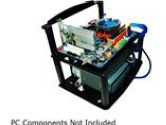DIYPC Alpha-GT3 Black Bench Computer Case for ATX/Micro ATX motherboard – PC components not included (DIYPC: Alpha-GT3)