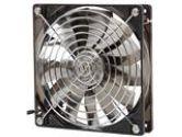Prolimatech Vortex Fan Aluminum Series PRO-ALUM-RD Red LED Case Fan (Prolimatech Inc.: PRO-ALUM-RD)