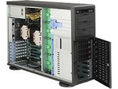 Supermicro 7047A-T Quiet Workstation Xeon E5 2XLGA2011 C606 Rdimm 8SATA Hs 6PCIE IPMI 2GBE 1200W (SuperMicro: SYS-7047A-T)