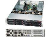 Supermicro 6027R-N3RFT+ 2U Xeon E5 2XLGA2011 C606 Rdimm 10SAS/SATA 6PCIE IPMI 4GBE 920W Redun (SuperMicro: SYS-6027R-N3RFT+)