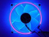 LOGISYS Computer CCF80UVBL Blue LED Case Fan (Logisys Computer: CCF80UVBL)