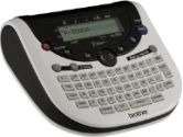 Brother P-Touch PT-1290 Simply Stylish Labeler - 180 dpi, 26.2' Tape Length, LCD, QWERTY Keyboard, (Brother: PT-1290 RB)