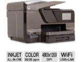 HP 8600 CM750A Officejet Pro Plus e-All-in-One Color Inkjet Printer - 4800 x 1200 Optimized dpi Color, 1200 x 600 dpi Black, 35 ppm, 4.3 Touchscreen, 802.11 n, 360 MHz, 128 MB, USB, Cop (HP: CM750A)