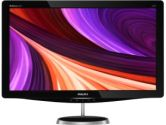 Philips 248C3LHSB 23.6IN Widescreen LED Backlit LCD Monitor Black 1920X1080 2MS HDMI VGA (PHILIPS: 248C3LHSB/27)