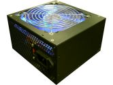 Topower TS-Series 600W Power Supply ATX12V V2.3 EPS12V 20/24PIN 120MM Blue LED Fan - White Box (Topower: EP-600TS)