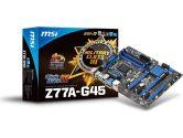 MSI Z77A-G45 ATX LGA1155 Z77 DDR3 3PCI-E16 4PCI-E1 SATA3 DVI HDMI VGA DX11 USB3.0 Motherboard (MSI/MicroStar: Z77A-G45)