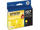 Extra High Capacity Yellow Ink Cartridge (Epson Printer Supplies: T127420)