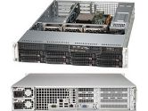 Supermicro 5027R-WRF 2U Xeon E5 2XLGA2011 C602 Rdimm 8SAS/SATA 5PCIE IPMI 2GBE 740W Redun (SuperMicro: SYS-5027R-WRF)