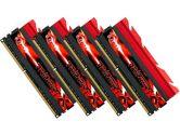 G.SKILL F3-2400C10Q-16GTX Trident X 16GB 4X4GB DDR3-2400 CL10 240PIN 1.65V Quad Channel Memory Kit (G.Skill: F3-2400C10Q-16GTX)