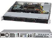 Supermicro 5017R-MTF 1U Xeon E5 LGA2011 C606 Rdimm 4SATA PCIe IPMI 2GBE 350W (SuperMicro: SYS-5017R-MTF)
