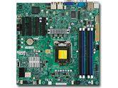 Supermicro X9SCM-F Xeon LGA1155 DDR3 ECC 4SATA2 2 SATA3 4PCIE 2GBE IPMI mATX Bulk (SuperMicro: MBD-X9SCM-F-B)