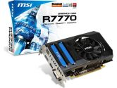 MSI Radeon HD 7770 1000MHZ 1GB 4.5GHZ GDDR5 DVI HDMI DisplayPort PCI-E Video Card (MSI/MicroStar: R7770-PMD1GD5)