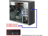 Supermicro 732D2-500B Mid Tower 4HDD Bay 7 Slots 500W ATX Black (SuperMicro: CSE-732D2-500B)