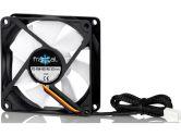 Fractal Design Silent Series R2 80mm Quiet Cooling Fan 1400RPM 19.4CFM 14DBA w/ Rubber Fasteners (Fractal Design: FD-FAN-SSR2-80)