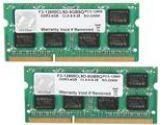 G.SKILL F3-12800CL9D-8GBSQ 8GB 2X4GB DDR3-1600 204PIN CL9 SODIMM Non-ECC Dual Channel Memory Kit (G.Skill: F3-12800CL9D-8GBSQ)