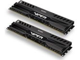 Patriot Viper 3 16GB 2X8GB PC3-12800 DDR3-1600 9-9-9-24 1.5V Dual Channel Memory Kit - Black Mamba (Patriot: PV316G160C9K)