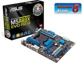 ASUS M5A99X Evo R2.0 ATX AM3+ DDR3 AMD 990X 3PCI-E16 2PCI-E1 1PCI USB3.0 SATA3 GBLAN Motherboard (ASUS: M5A99X EVO R2.0)