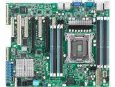 ASUS Z9PA-U8 ATX LGA2011 Intel C602-A PCH DDR3 2PCI-E16 1PCI SATA3 VGA 2XUSB3.0 Server Motherboard (ASUS: Z9PA-U8)