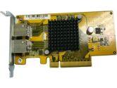 QNAP LAN-1G2T-U Dual Port Gigabit Network Server Adapter Card (QNAP Systems Inc.: LAN-1G2T-U)