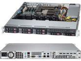 Supermicro 1027B-MTF 1U Xeon E5 2xLGA1356 DDR3 C602 Rdimm 8SATA 2.5in PCIE IPMI 600W (SuperMicro: SYS-1027B-MTF)
