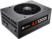 Corsair AX1200I 1200W Digital ATX 12V 80 Plus Platinum Modular Power Supply 140mm Fan (Corsair: CP-9020008-NA)