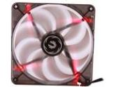 Bitfenix Spectre PWM BFF-BLF-P14025R-RP LED Red 140mm Case Fan 1800RPM 56.1CFM 24.2DBA (BitFenix: BFF-BLF-P14025R-RP)
