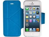 Momax The Core Smart Case for Apple iPhone 5 - Light Blue (Momax: GCSDAPIP5B12)
