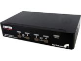 StarTech SV431DPUA 4 Port USB DisplayPort KVM Switch with Audio (STARTECH: SV431DPUA)