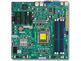 Supermicro X9SCM-IIF LGA1155 DDR3 ECC 4PCIE 6SATA 2GBLAN IPMI Video mATX Motherboard Retail (SuperMicro: MBD-X9SCM-IIF-O)