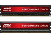 AMD Performance Edition 8GB 2X4GB PC3-12800U DDR3 1600MHz 8-9-8 1.65V Memory Module W/O Heatsink (AMD: AE38G1609U2KU)
