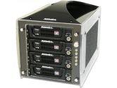 Addonics CDC4HESU Cipher RAID Tower Four 3.5in SATA HDD USB 3.0/2.0 Drive Encryption RAID Support (Addonics: CDC4HESU)