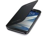 Samsung Leather Flip Cover for Galaxy Note 2 Black (Samsung: EFC-1J9FSEGCAN)