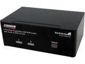 StarTech SV231DPDDUA 2 Port USB KVM Switch with Audio & USB 2.0 Hub (STARTECH: SV231DPDDUA)