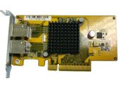 QNAP LAN-10G2T-D Dual Port 10GBASE-T Tower Network Expansion Card (QNAP Systems Inc.: LAN-10G2T-D)