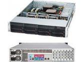 Supermicro Superchassis 825TQ-R740LPB 2U 8XSAS/SATA 7LP 740W (SuperMicro: CSE-825TQ-R740LPB)