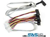 Adaptec ACK-IrA-HDmSAS-4SAS-SB SFF8643 to SFF-8482 mSAS HD to 4xSATA sideband 0.8M Cable Series 7 (Adaptec: 2279600-R)