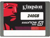 Kingston SSDNow V300 240GB 2.5in SATA3 LSI SandForce Solid State Disk Flash Drive SSD (Kingston: SV300S37A/240G)