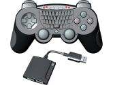 i-CON PS3 PLAY N' TYPE WIRELESS CONTROLLER w/ QWERTY KEYPAD (i-CON by ASD: 884095138547)