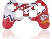 PS3 Official NFL Kansa City Chiefs Controller Faceplate (Mad Catz: 728658018023)