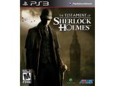 The Testament of Sherlock Holmes (Atlus: 730865001514)