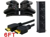 Everydaysource Controller Charger + HDMI Cable + Cooler for SONY PS3 (Everydaysource: 886610324282)