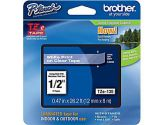Brother TZE135 for P-TOUCH12MM White On Clear Lable Tape (Brother Printer Supplies: TZE135)