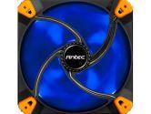 Antec TrueQuiet 140MM Case Fan W/ Silicone Mount & Adjustable Switch 9.820DBA Blue (Antec: True Quiet 120 UFO Blue)