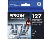 Epson T127120 DURABrite Extra High Capacity Black Ink Cartridge (Epson Printer Supplies: T127120)