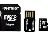 Patriot Signature Flash MICROSDHC/MICROSDXC 32GB Class 10 With USB Reader and Adapter (Patriot: PSF32GMCSHC10UK)