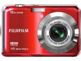 Fujifilm FinePix AX600 14MP 5x Optical Zoom Lens 2.7IN LCD Digital Camera Red (FUJIFILM: 600012481)