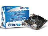 MSI H61M-P32/W8 mITX FCBGA1023 DDR3 1333 1XPCI-EX1 SATA3 USB2.0 Motherboard (MSI/MicroStar: C847IS-P33)