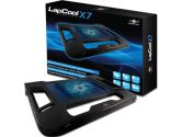 Vantec Lapcool X7 Notebook Cooler Stand 120mm Fan (Vantec: LPC-120-BL)