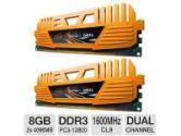 GEIL Enhance Crosa Series 8GB Desktop Memory Module Kit - DDR3, 2 x 4GB, PC3-12800, 1600 MHz, C9, Dual Channel, 1.5V (GeIL: GEC38GB1600C9DC)
