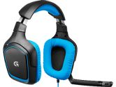 Logitech G430 7.1 Surrond Sound Gaming Headset ON-CABLE Controls 20-20KHZ 32OHMS USB (Logitech: 981-000536)